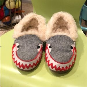 Jcrew shark slippers